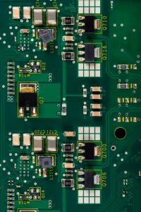 copper on printed circuit board